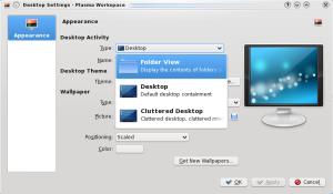 Folderview Desktop